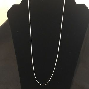 """Jewelry - Sterling silver.925 Snake Chain 22"""""""